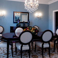Traditional Dining Room by CANDICE ADLER DESIGN LLC