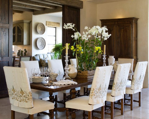 inspiration for a mediterranean dining room remodel in san francisco