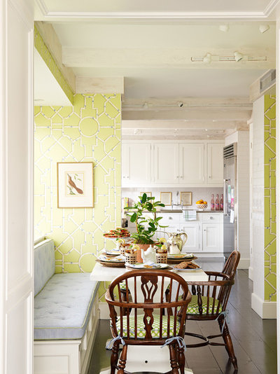 American Traditional Dining Room Traditional Kitchen