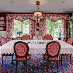 traditional dining room by Ravnik Interior Design