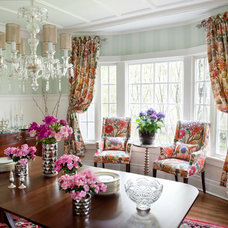 Traditional Dining Room by Elizabeth Drake of Drake Interiors Limited