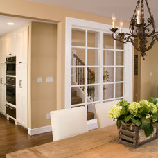 Traditional Dining Room by Hill Custom Homes