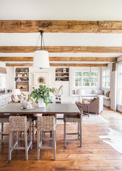 Farmhouse Dining Room by Marie Flanigan Interiors