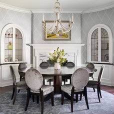 Traditional Dining Room by Morgante Wilson Architects
