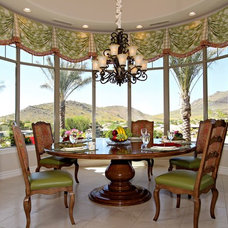Traditional Dining Room by Carlson Homes Scottsdale