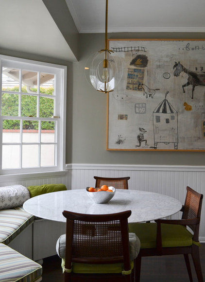 Transitional Dining Room by Jeanne K Chung, Inc. // Cozy•Stylish•Chic