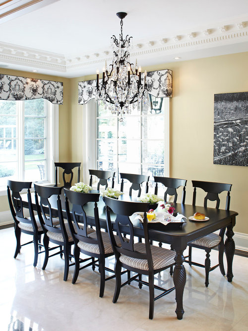 Black Dining Room Tables | Houzz