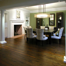 Traditional Dining Room by GMK Architecture Inc