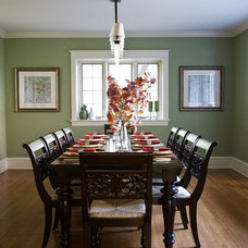 Traditional Dining Room by Barrickman Design Group