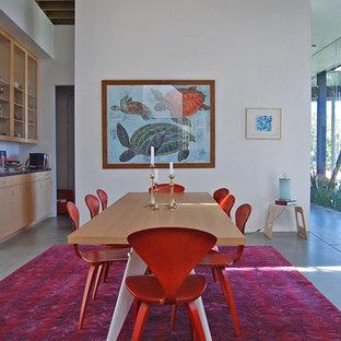 Esempio di una sala da pranzo minimal