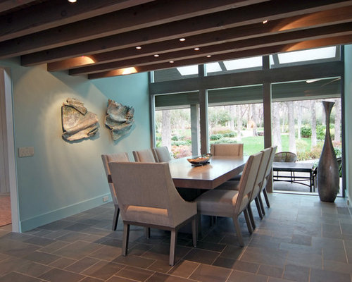 Tile Dining Room | Houzz
