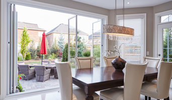 Transitional Delight with Window Wall Feature