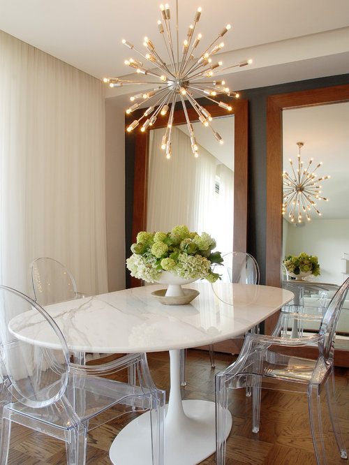 Mirror Behind Dining Table Design Ideas Remodel Pictures Houzz