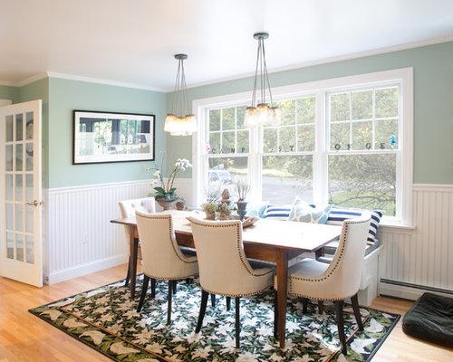 beadboard in dining room | Beadboard Wainscoting | Houzz