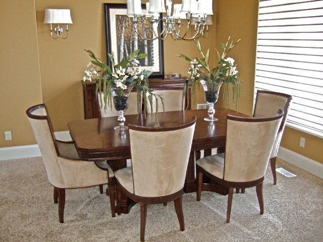 Transitional Dining Room Top Interior Designers in Montgomery