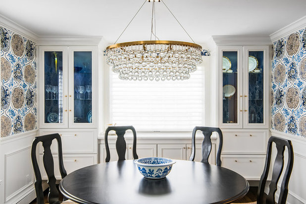 Traditional Dining Room by Distinctive Interiors
