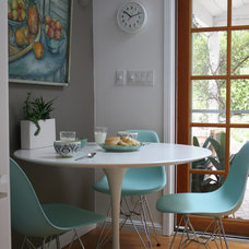 Eclectic Dining Room by Fiorella Design