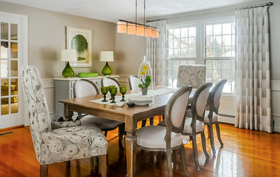 Room of the Day: Grown-Up Style in a Family Dining Room