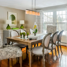 Traditional Dining Room by Linda Holt Interiors