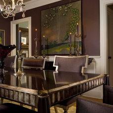 Traditional Dining Room by Maria K. Bevill Interior Design
