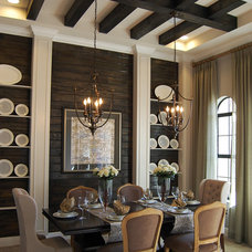 Traditional Dining Room by Masterpiece Design Group