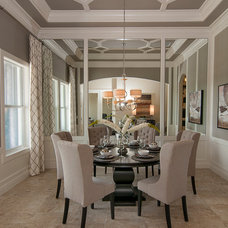 Dining Room by Masterpiece Design Group