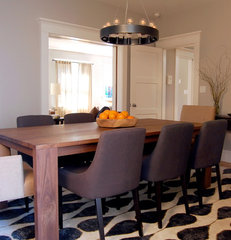 eclectic dining room by Niche Interiors