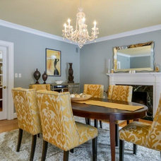 Traditional Dining Room by Spotlight Staging And Design