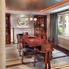Contemporary Dining Room by Storybook Rooms, LLC
