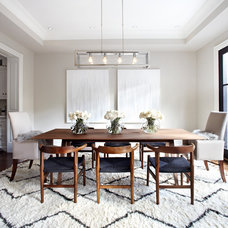 Transitional Dining Room Transitional Dining Room
