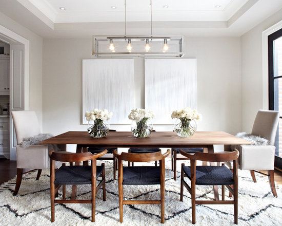 transitional dining room | houzz