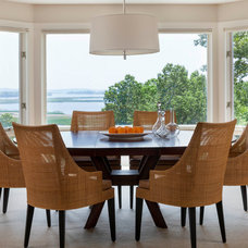 Beach Style Dining Room by the orpin group, interior design