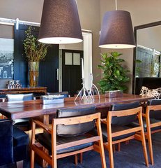 contemporary dining room by Urrutia Design