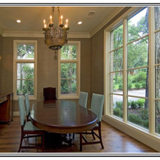 Traditional Dining Room by Soledad Builders, LLC