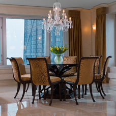 Modern Dining Room by Interiors by Mary Susan