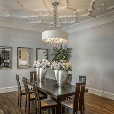 Transitional Dining Room by Platinum Series by Mark Molthan