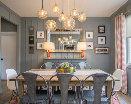 Best 15 Gray Dining Room Ideas & Remodeling Pictures | Houzz