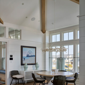 Transitional Home with Ocean Views