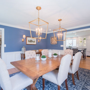 Transitional Kitchen and Dining Room Renovation in West Chester, PA