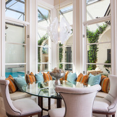 Tropical Dining Room by Muni Designs