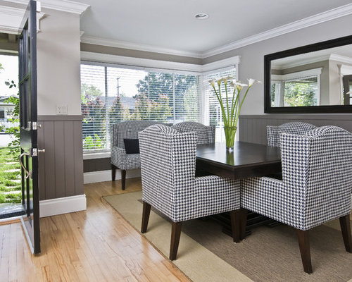 gray wainscoting houzz. Black Bedroom Furniture Sets. Home Design Ideas