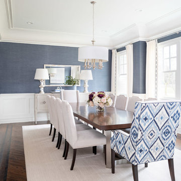 Transitional NJ Dining Room