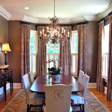 Traditional Dining Room by Katherine Connell Interior Design