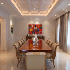 Traditional Dining Room by Mackle Construction
