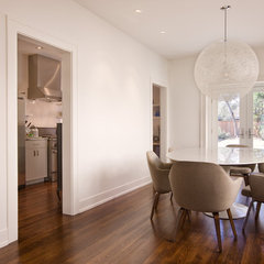 contemporary dining room by Texas Construction Company
