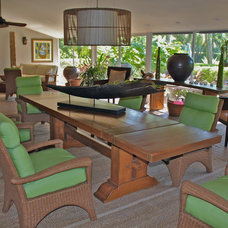 Tropical Dining Room by Maria Teresa Durr