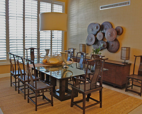 Best wall decor for dining room design ideas remodel for Houzz dining room wall art