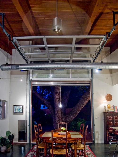 Interior garage door home design ideas pictures remodel for Garage style kitchen window