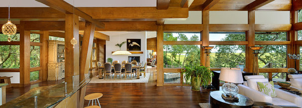 Contemporary Dining Room by The Anderson Studio of Architecture & Design