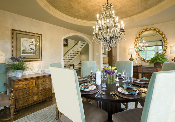 Traditional Dining Room by Gacek Design Group, Inc.